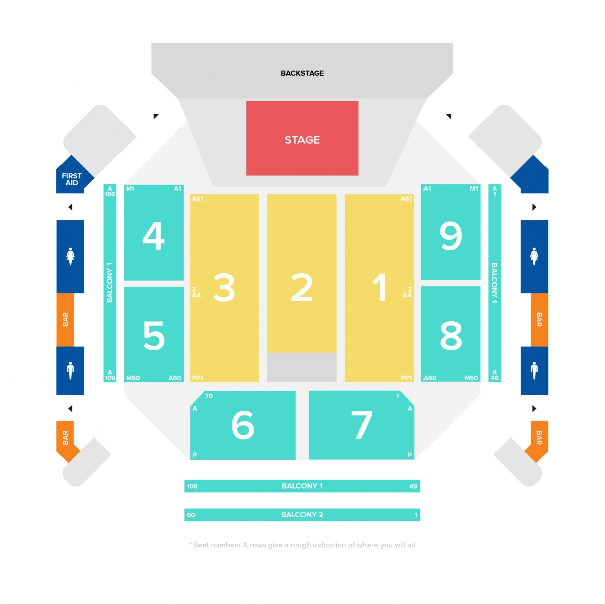 Seating Plans | Motorpoint Arena Cardiff