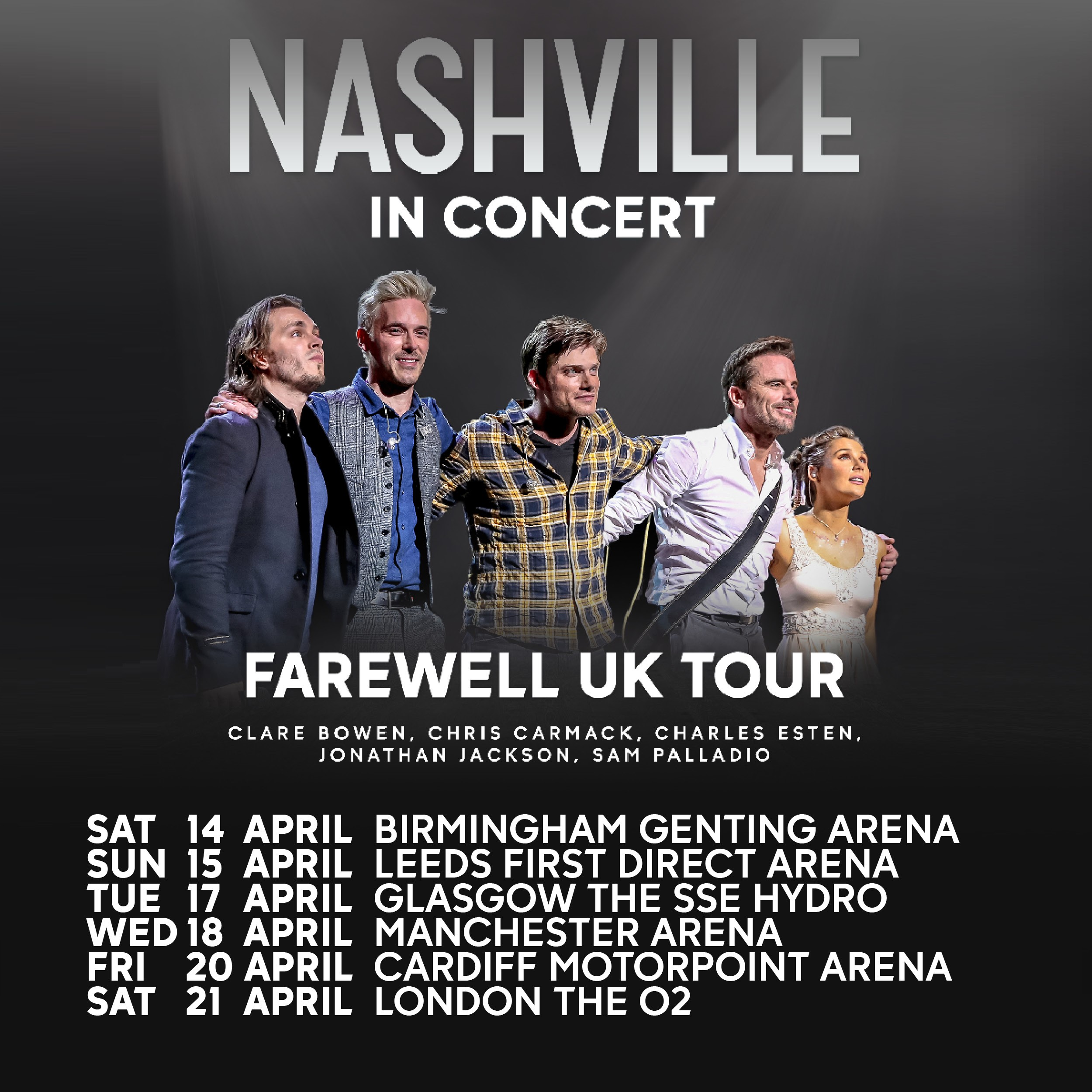Nashville the farewell uk tour motorpoint arena cardiff kristyandbryce Images